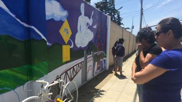 Mural honors Salinas bicyclist killed in hit-and-run