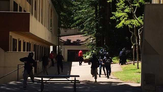 Active shooter training held at UC Santa Cruz