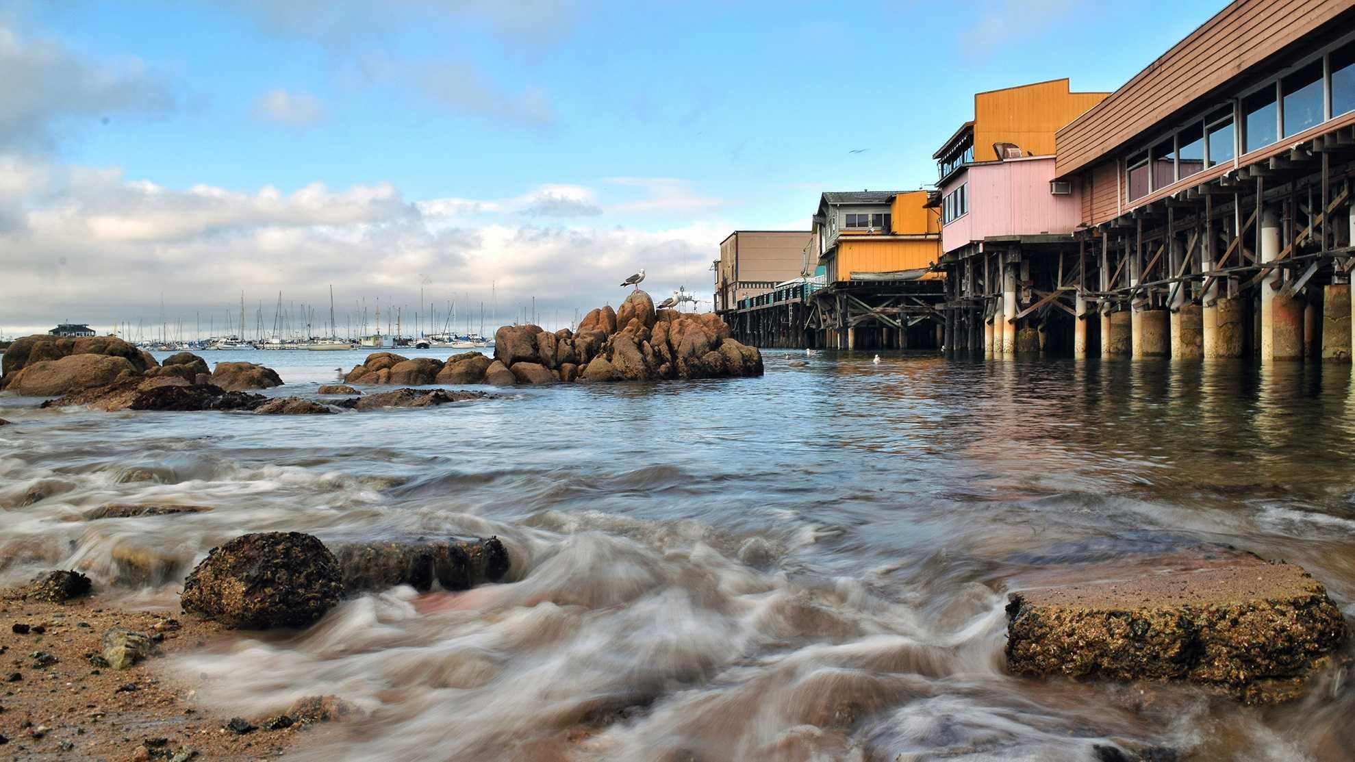 Wharf in Monterey