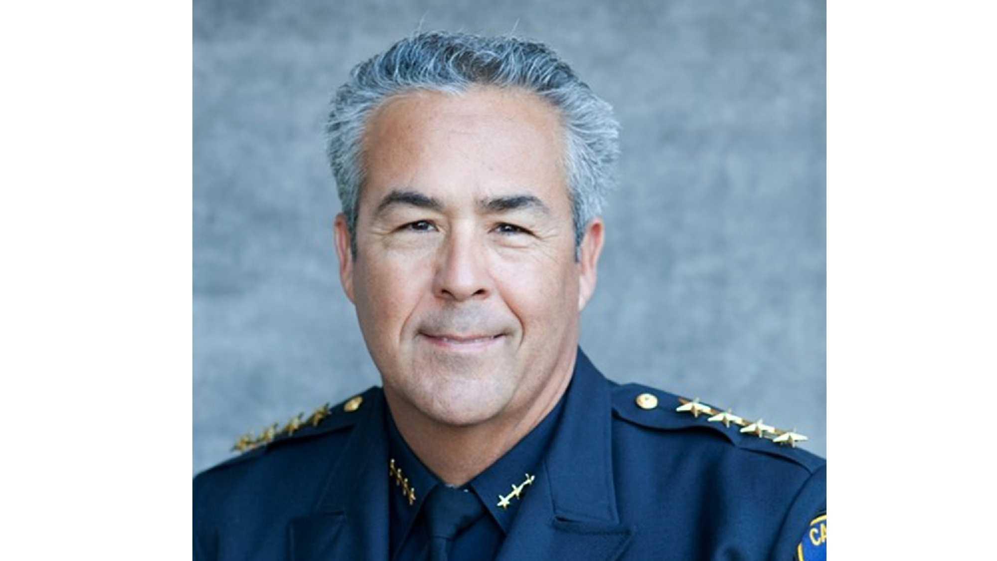 Capitola Police Chief Rudy Escalante
