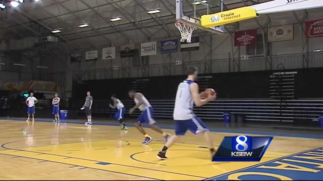 Golden State Warriors are in Santa Cruz getting ready for summer league play.
