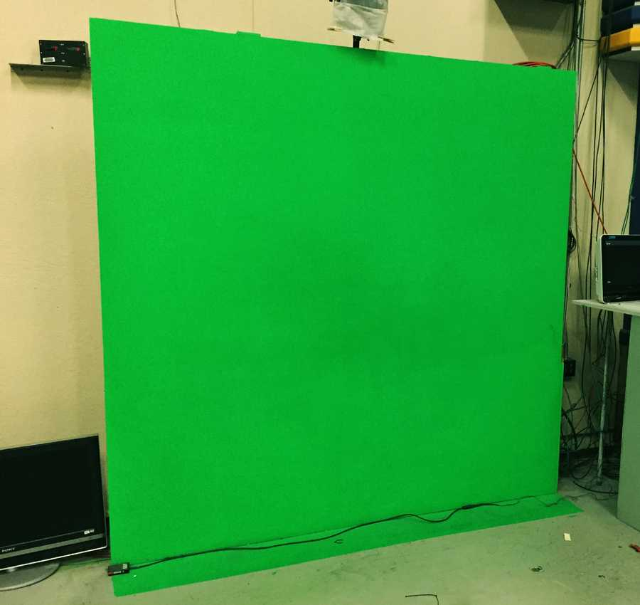 Old green screen