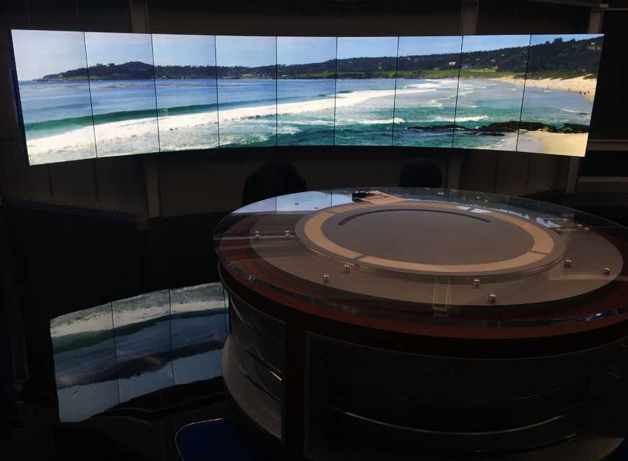 New anchor desk