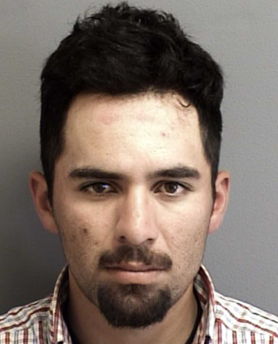 Eduardo Barajas, 31, was arrested at 1226 Via Del Sol in Prunedale.