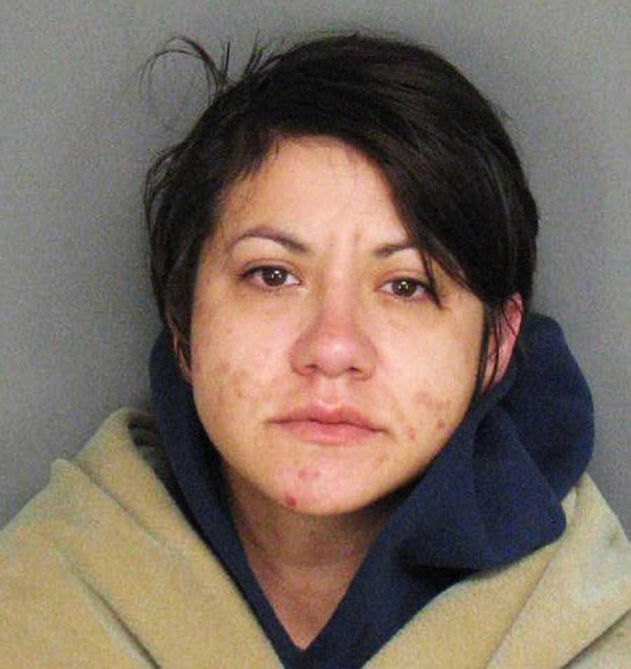 Amanda Mairose, 31, was arrested at 1605 Atherton Way in Salinas.
