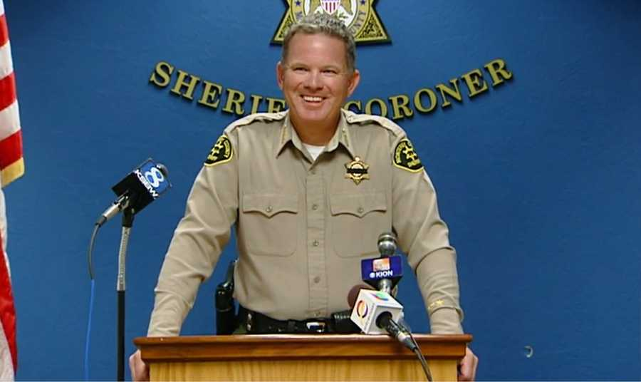 On Wednesday, Bernal announced that the police chief's rifle and vest had been recovered by sheriff's deputies.