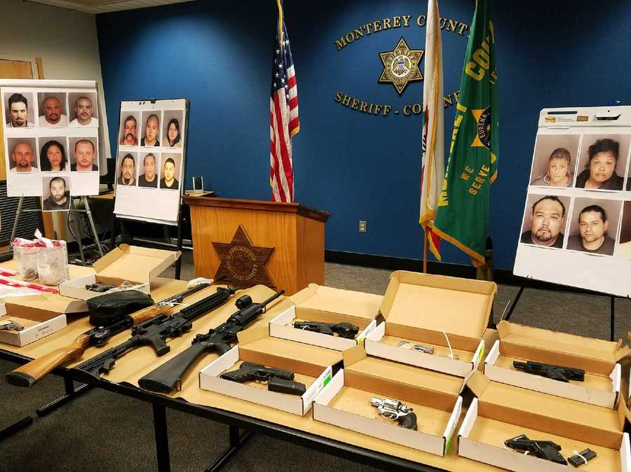 Monterey County Sheriff Steve Bernal disclosed details Wednesday about a major Toro Park and Las Palmas crime spree investigation that resulted in the arrests of 19 suspects.