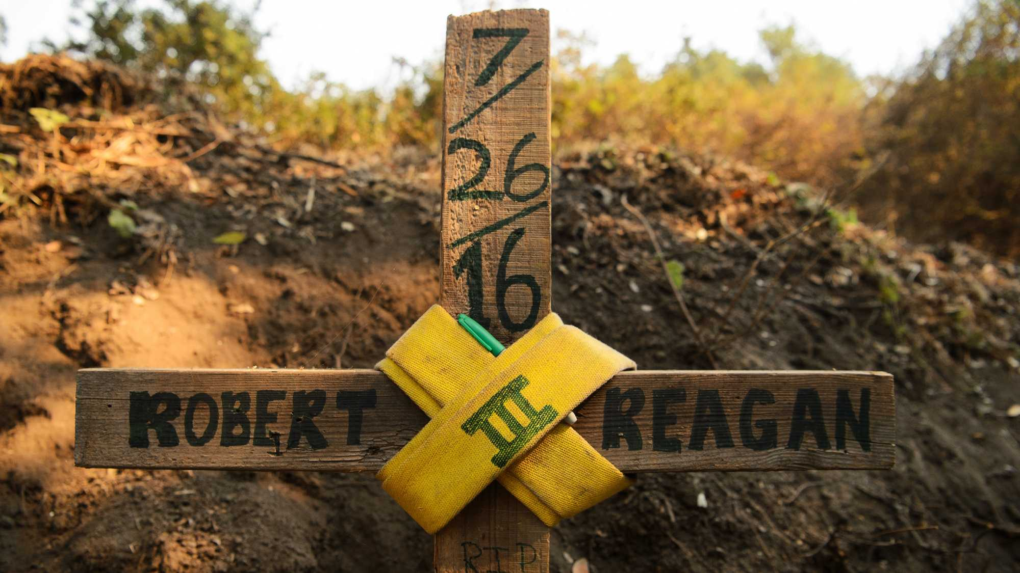 A bulldozer operator, Robert Oliver Reagan III, was killed on July 26 while fighting the Soberanes Fire. Cal Fire said the bulldozer rolled on steep terrain at night.