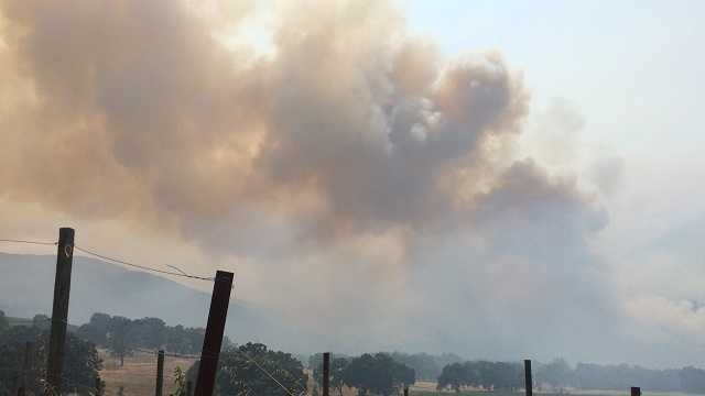 Carmel Valley winemakers concerned about Sobranes Fire smoke