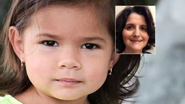 Elliana Lucas-Jamason was found dead in a tub in a Jupiter home Monday, and the ex-partner of her mother, Kymberley Lucas (inset), is charged with murder.