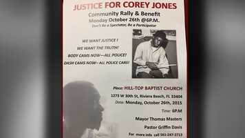 Oct. 26: Community Rally & Benefit held at Hill-Top Baptist Church in Riviera Beach.