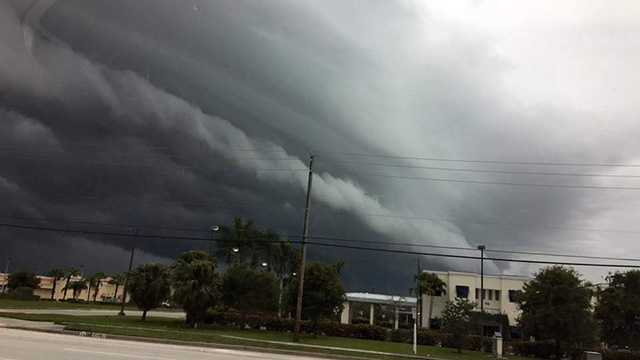 Strong storms moved through South Florida Thursday. Click through our viewer submitted photos sent to us on our Facebook page.