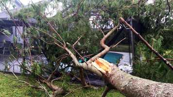 Another round of strong storms crossed through South Florida Thursday. Here are some photos sent to us by viewers on our Faceboook page, on Twitter and by our reporters in the field.
