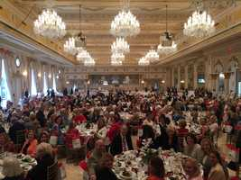WPBF anchor Tiffany Kenney emceed the Hab-a-Hearts luncheon on Monday at Mar-a-Lago Club. Money raised benefits Palm Beach Rehabilitation Center -- which helps people with disabilities.