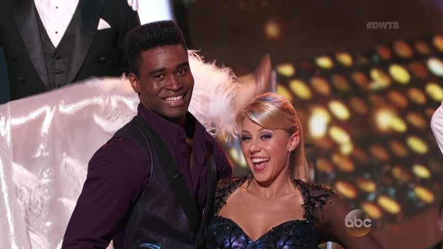 Fuller House actress Jodie Sweetin is dancing with Keo Motsepe.