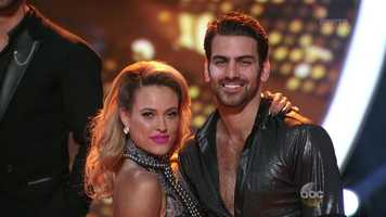 Deaf model Nyle DiMarco danced the Cha Cha with Peta Murgatroyd.