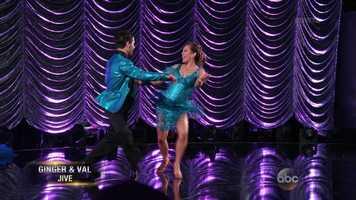 Scores:Carrie Ann - 8 | Len - 7 | Bruno - 8Total: 23/30
