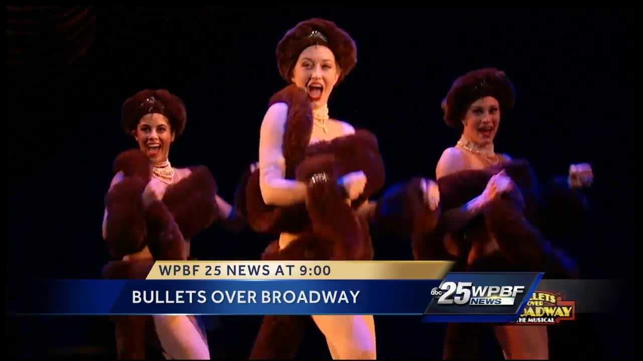 Bullet Over Broadway premiere's from March 22 to March 27 at the Kravis Center. Actors Jemma Jane and Bradley Allan Zarr talk about their roles with Sanika Dange.