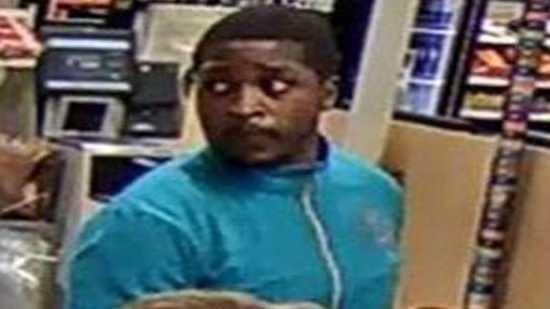 Authorities are asking store owners to be on alert of a man paying with a cloned credit card.