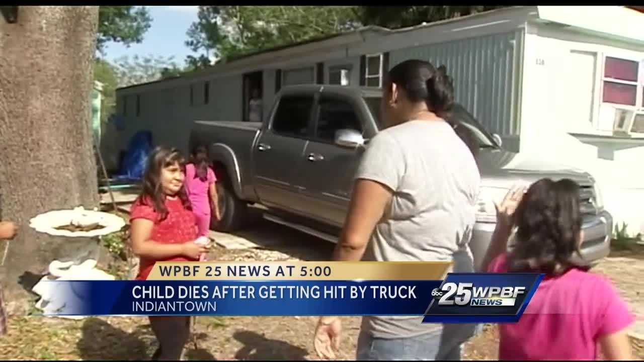Child dies after getting hit by truck