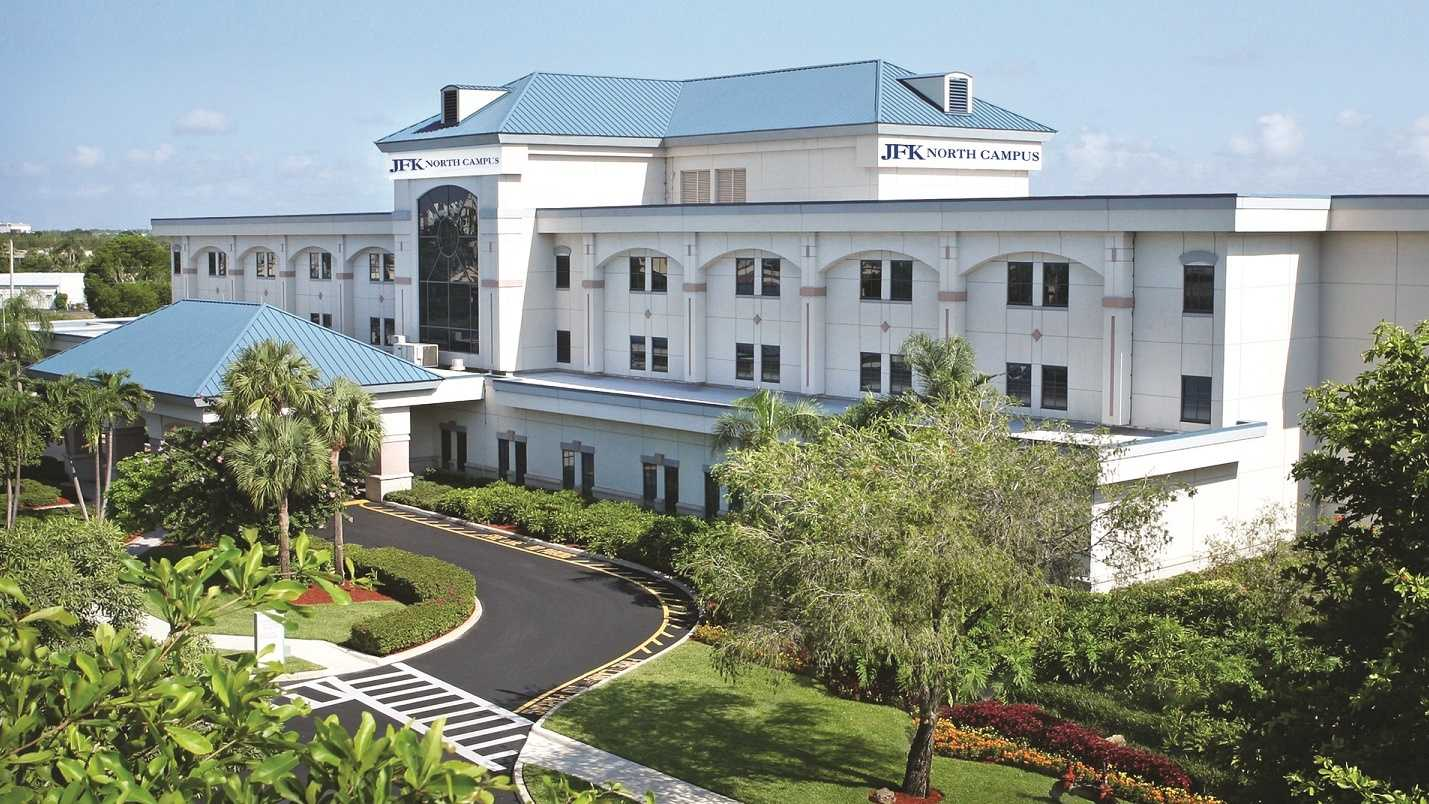 No, this isn't an April Fool's joke. West Palm Hospital is now JFK Medical Center North Campus, according to JFK officials.