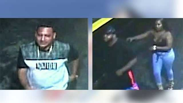 Police are hoping someone will identify the people in a surveillance camera who were last seen speaking to a man who ended up dead outside of a strip club. Ted White reports.
