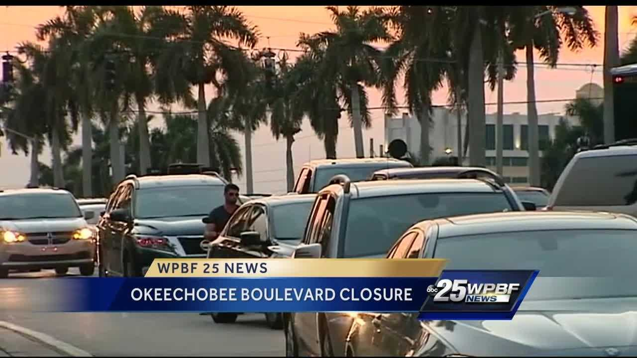 It has only been two days and drivers are already fed up with the Okeechobee Boulevard closure.