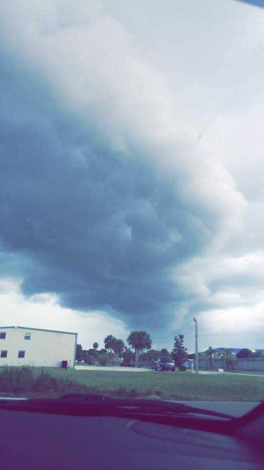 Bad storms rolling in again in Okeechobee, Fla.