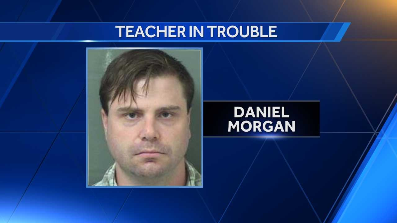 Daniel Morgan is charged with using a computer to seduce, solicit, lure or entice a child.