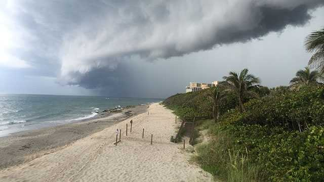 Location: Lifeguard tower at Carlin Park in Jupiter, Fla.Photo courtesy of Lieutenant Don May of Palm Beach County Ocean Rescue.