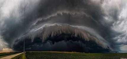 Storm cloud near Interstate 95