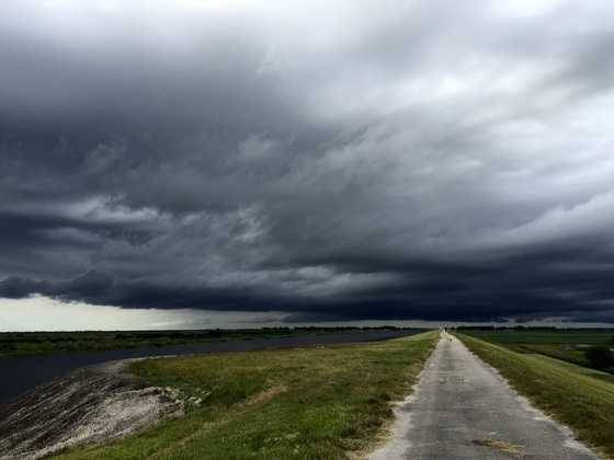 Weather in Belle Glade, Fla.Photo courtesy of Sarah Santiago.