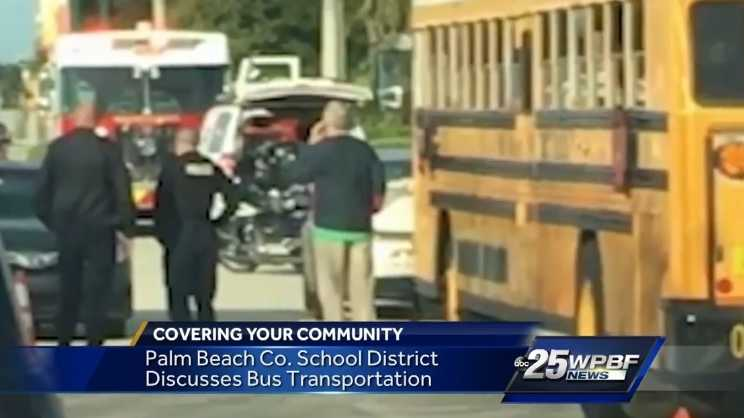 The School District of Palm Beach County Transportation Services Department  continues to actively hire bus drivers ensure that the nearly 650 routes  driven ...
