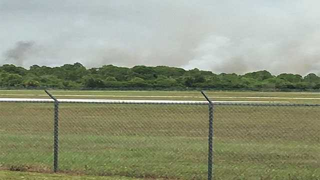Brush fire reported Tuesday in Sebastian, Fla.