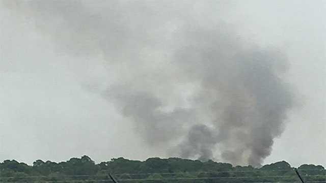 Brush fire reported Tuesday in Sebastian, Fla.
