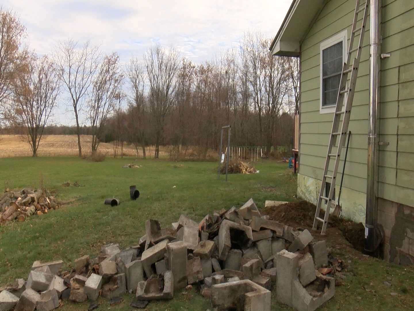 volunteer firefighter spots chimney fire saves family home