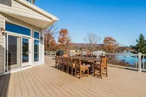 Mansion Monday: Home on Lake Winnipesaukee has private beach, theater, 6 fireplaces
