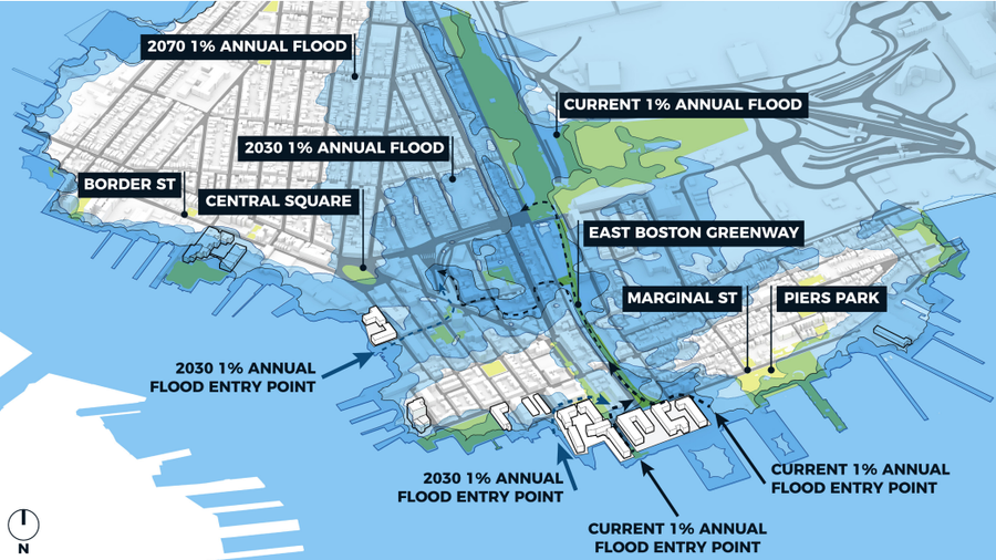 Boston announces plans to combat flooding caused by climate change city of boston source city of boston sciox Choice Image
