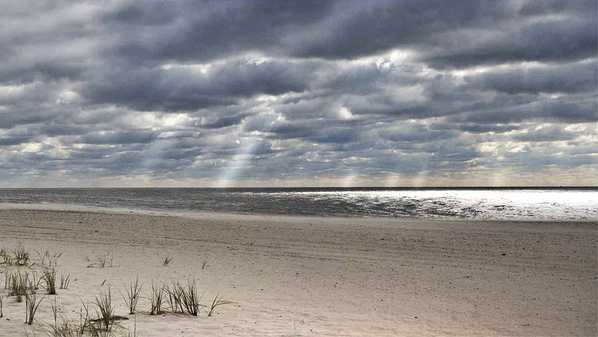 Cape May beach, New Jersey