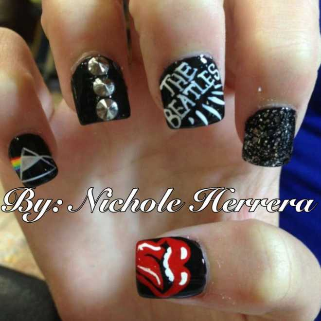 This womans nail art will make you want to drive to texas for a verx20thex20pastx20eightx20 prinsesfo Images