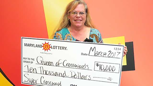 Queen of Crosswords lottery winner