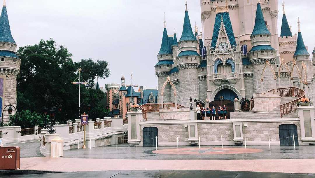 Disney empty - Magic Kingdom