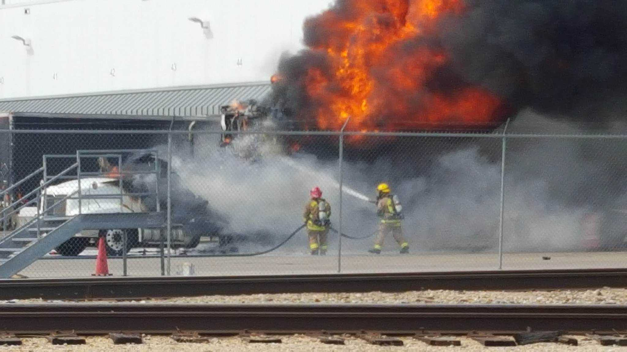 Fire in Springdale