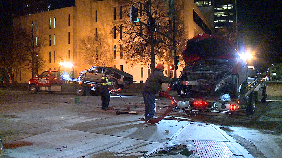 Crash at 14th & Farnam