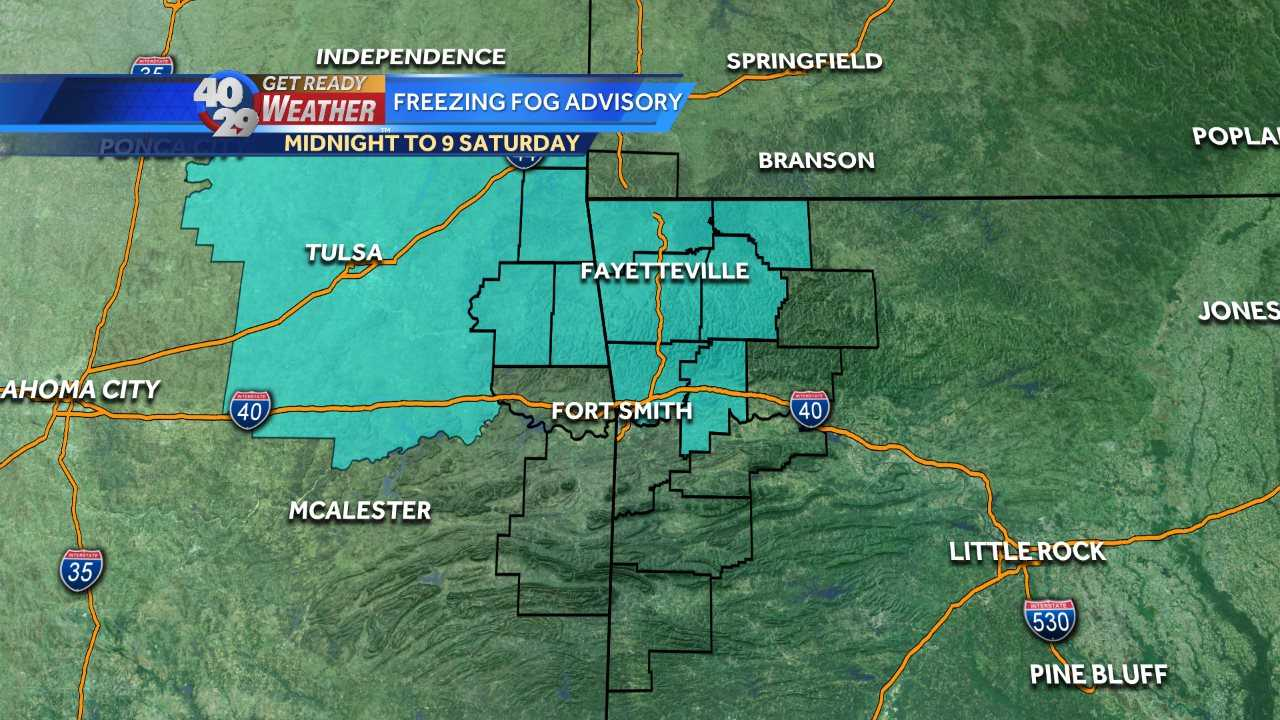 Freezing Fog Advisory