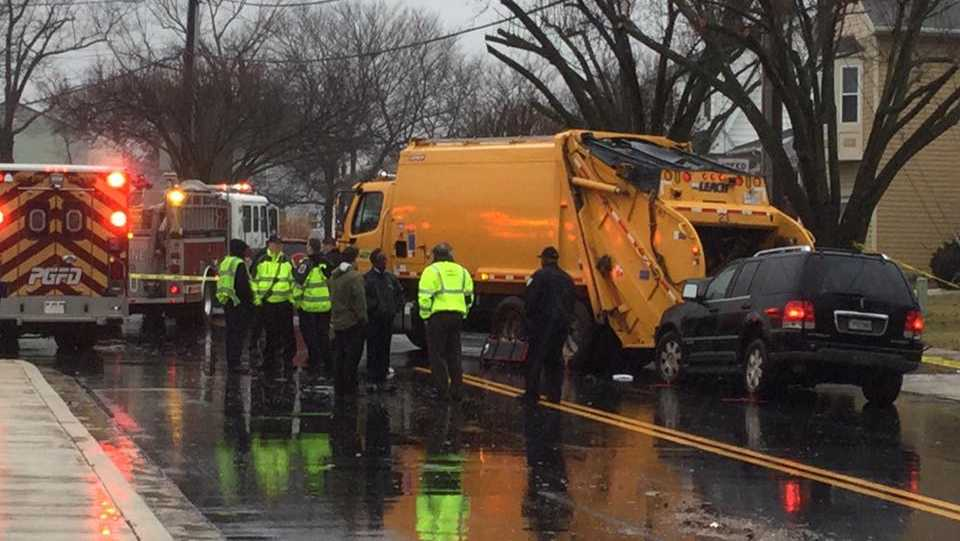 DPW worker killed in crash