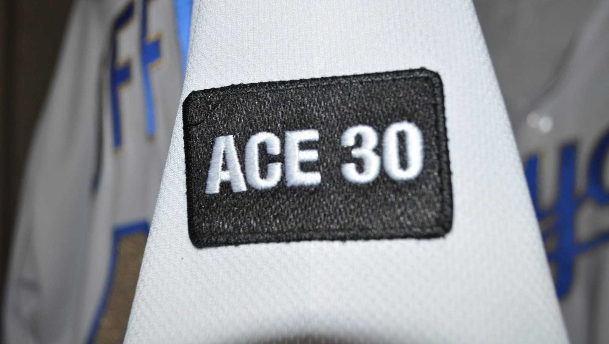 ACE 30 patch in tribute of Yordano Ventura