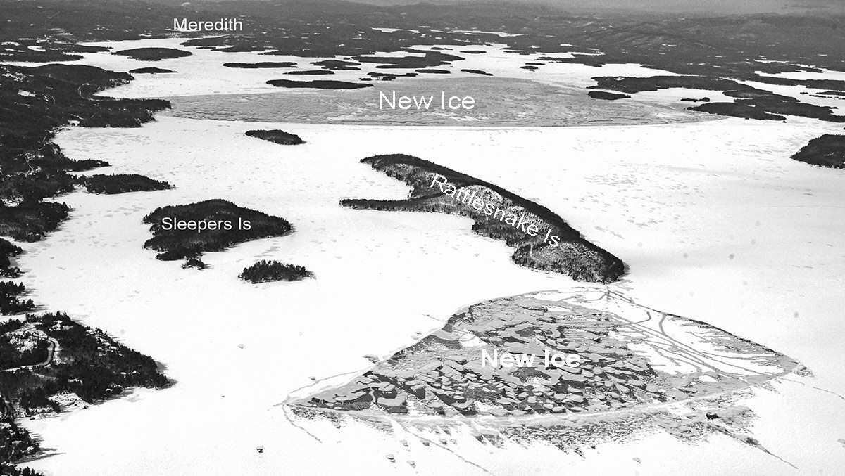Ice-in declared on Lake Winnipesaukee