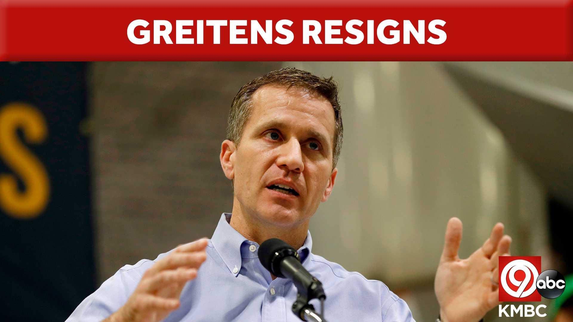 Greitens Resigns