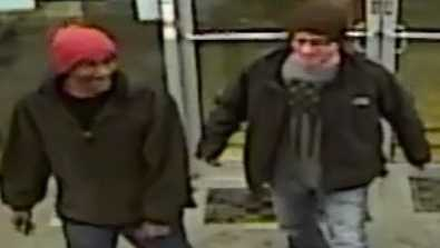 Men caught on tape wanted for break-ins at Arrowhead